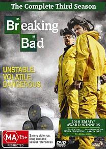 Breaking Bad Season 3 DVD R4 New SEALED 9317731079849