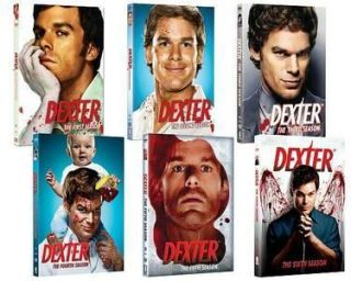Dexter DVD SET Seasons 1 6 Season 6 Just Released New. Sealed. Free