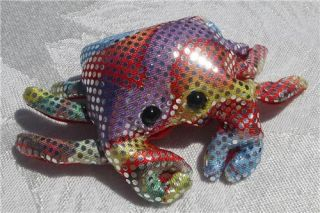 Cute Sparkle Crab Stuffed Fish Sand Animal Toy Gift Rainbow Creatures
