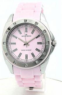 Anne Klein 10 9179PKPK Watch Ladies Pink Plastic Band