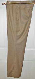 Anne Klein Ladies Tan Pant Suit with Belt Size 12