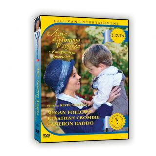 Anne of Green Gables The Continuing Story Polish DVD 2004 622237230427