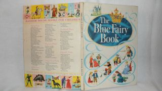 1959 The Blue Fairy Book by Andrew Lang Pub by Random House