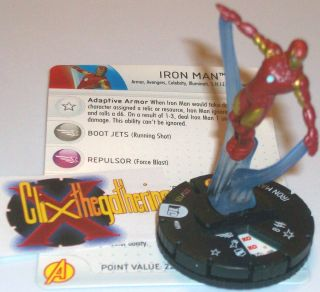Iron Man 009 9 Marvel 10th Anniversary Heroclix