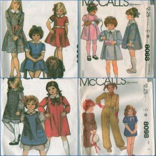 McCall's Little Orphan Annie Costume Sewing Pattern Annie's