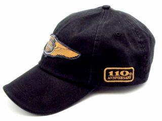 HARLEY DAVIDSON 110TH ANNIVERSARY LOGO BALL CAP **NO RESERVE** HAT
