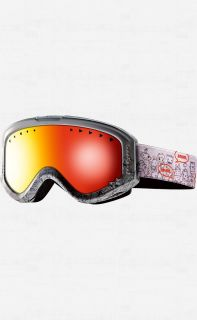 ANON TRACKER Goggles Flash Mob with Red Amber Lens YOUTH Ski Snowboard