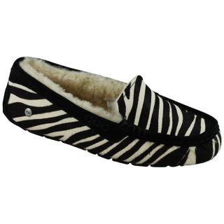 UGG Australia Womens Ansley Exotic Zebra Slipper US 7