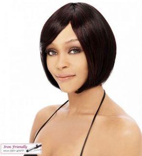 Premium Quality Fiber Short Straight Bob Wave Anna Wig