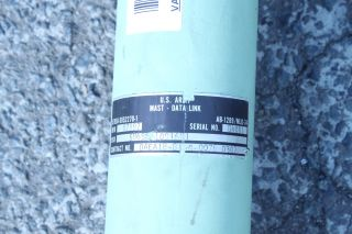 US Army Tacjam An MLQ 34 Telescoping Antenna Mast Radio