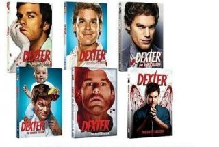 Dexter DVD SET Seasons 1 6 BRAND NEW. Seasons 1,2,3,4,5,6. fast free
