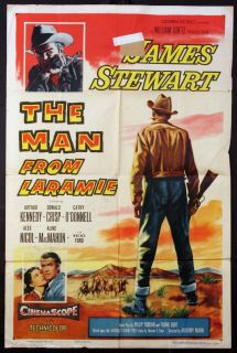 from Laramie James Stewart Anthony Mann Western 1955 1 Sheet