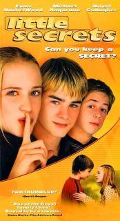 Little Secrets (2003, VHS) Evan Rachel Wood, Michael Angarano