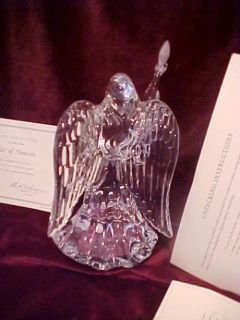 LENOX GERMAN CRYSTAL ANGEL NORTH STAR OF HEAVEN FIGURINE MIBCOA