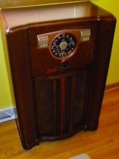 Antique Vintage Tube Radio Console Zenith 10S567