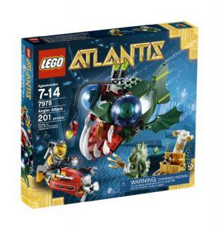 New Lego Atlantis Angler Attack 7978