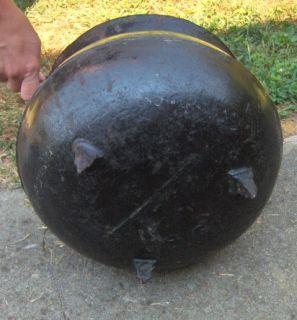 Large Antique Cast Iron Kettle Cauldron Gypsy Pot Marked 8 G Cast Iron