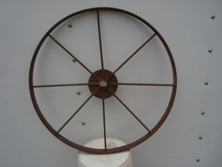 ANTIQUE GARDEN CULTIVATOR WHEEL~ 16 inch~DECORATION~farm tool