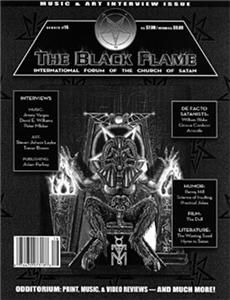 MAGAZINE #16 Rare Church of Satan Anton LaVey Satanic Art Music NEW