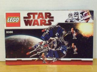 Lego Star Wars Instructions Only 8086 Droid Tri Fighter