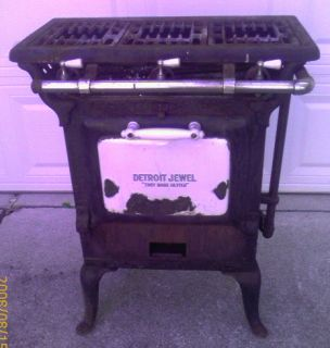 D71 Antique Kitchen Detroit Jewel Old Gas Stove Used