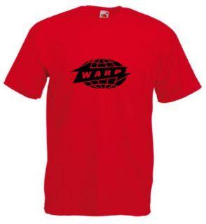 Warp Records T Shirt Aphex Twin Techno Rave DJ Squarepusher 6 Colors