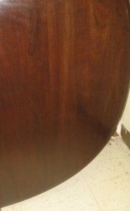 Georgian Court Collection Cherry Oval Table 11  6214 Queen Anne Legs