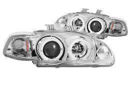 ANZO USA 121065 HONDA CIVIC PROJECTOR WITH HALO CLEAR LED HEADLIGHT
