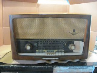 Vintage Grundig Tube Radio Model 4088 EES Non Working