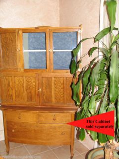 Antique Oak Kitchen Wilson Hoosier Cabinet  Wonderful in Your Home