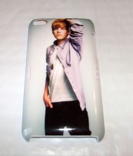 Justin Bieber Apple iPod TOUCH 4th Gen Hard Back Case New Posing