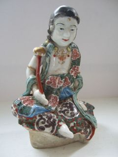 Antique Oriental Chinese Porcelain Figurine