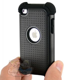 Hybrid Impact Hard Case Cover iPod Touch 4th Gen 4G Accessory