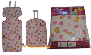 Japanese Aprica Baby Car Seat Cushion Disney Princess