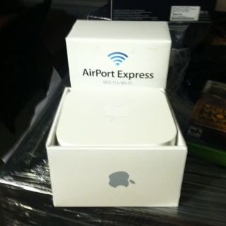 Apple AirPort Express 2 Port 10 100 Wireless N Router MC414LL A