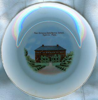 C1915 Hyannis Massachusetts Souvenir China Plate Normal School Bavaria