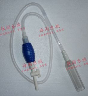 Aquarium Gravel Cleaner Filter Water Pump Vacuum Siphon with Switch