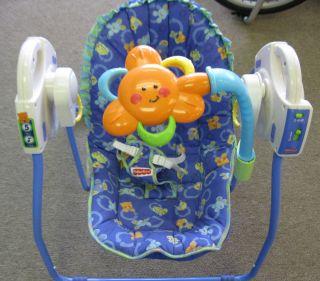 Price 5 Speed Travel Portable Infant Baby Swing Take Along Linkadoo