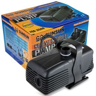BEST 800GPH FISH TANK AQUARIUM WATER PUMP GARDEN POND ADJUST FLOW