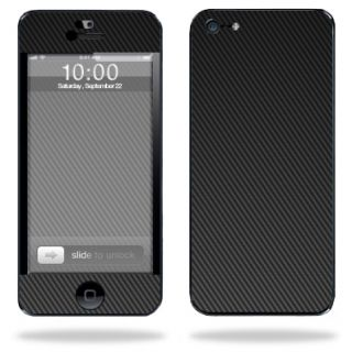 Decal Cover for Apple iPhone 5 Cell Phone Sticker Skins Carbon Fiber