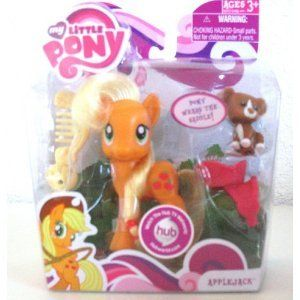 Little Pony FRIENDSHIP IS MAGIC Apple Jack Rarity Fluttershy Pinky Pie