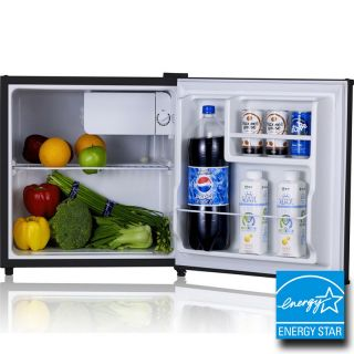 Mini Stainless Steel Refrigerator Freezer Compact Small Dorm Office