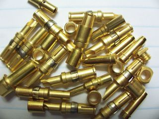OZ (NOS) 24K MILITARY SPEC CONTACT/CONNECTOR/PINS. Gold Scrap Recovery