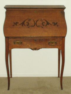 Charming Ladies Antique Secretary Desk Circa 1895