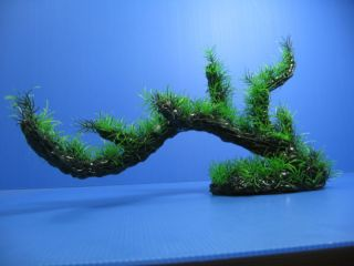3D Aquarium Plastic Plants 18 1L Ornament Fish Decor