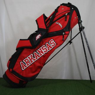 University of Arkansas Razorbacks Hogs College Golf Stand Bag