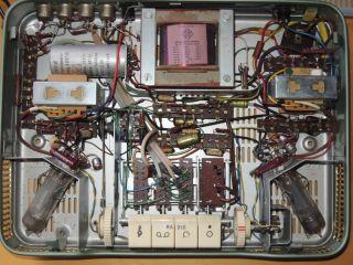 Telefunken S82 Vintage Stereo Tube Amplifier Single Ended