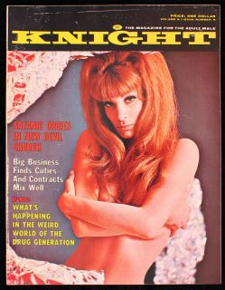Knight V 6 8 VF Anton lavey The Acid Eaters Sharon Tate