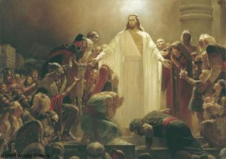 Arnold Friberg THE RISEN LORD Signed limited edition print Jesus