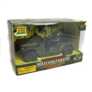World Peacekeepers Military Army Vehicle Figure Toy NEW BOXED